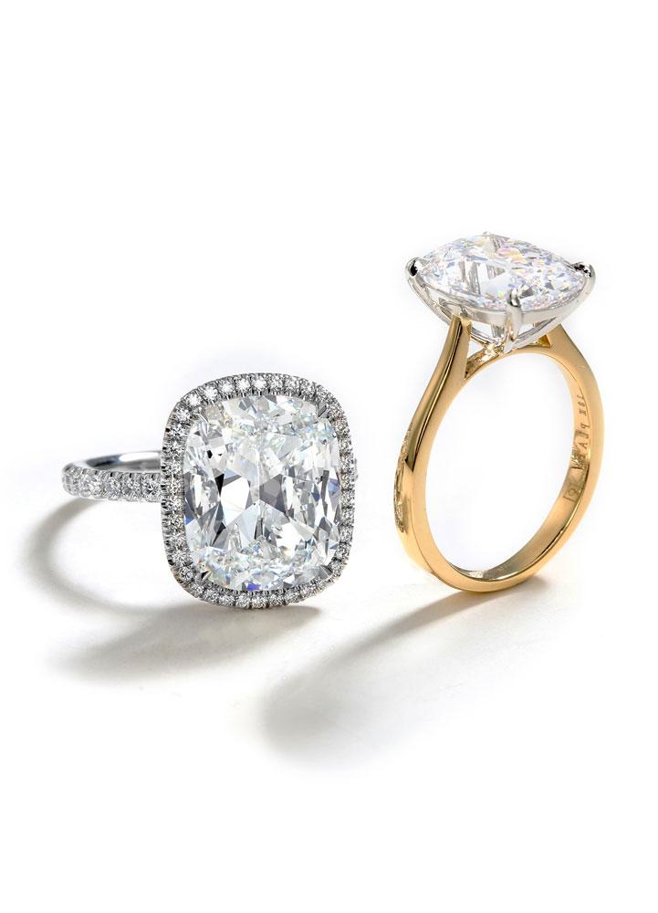 gold-platinum-diamond-rings